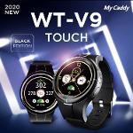 마이캐디 프리미엄 WT-V9 터치 스윙모션 시계형 GPS 거리측정기 골프용품 필드용품
