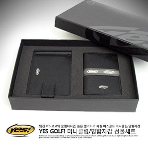 예스 지갑SET(머니클립+명함지갑)선물세트