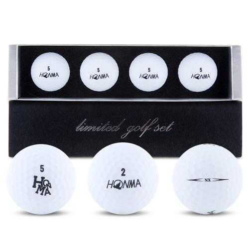 [HONMA] 혼마 NX 3피스 프리미엄 무광 골프공 4구세트