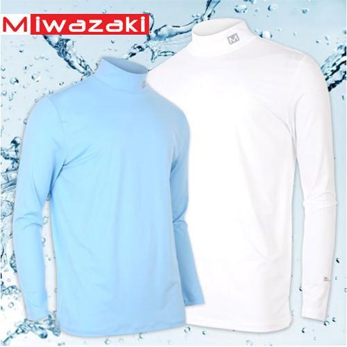[미와자키] MZ-506 냉감 쿨링 남성 긴팔티셔츠