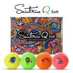[2020년신제품]세인트나인正品 Q SOFT 3피스 4색칼라 프리미엄 골프볼-12알