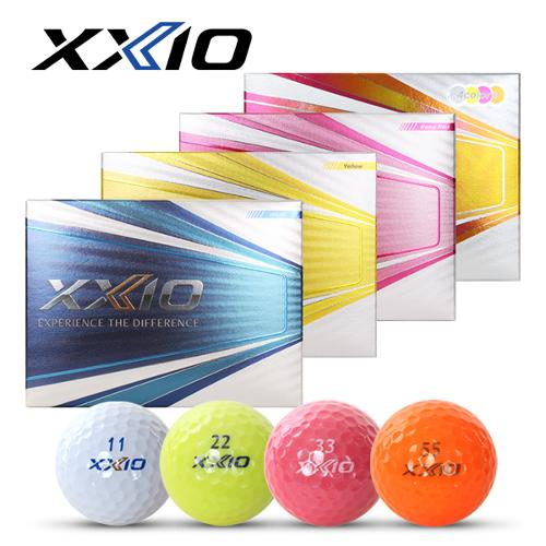 [2020년신제품]던롭 젝시오 XXIO 11 SOFT 일레븐 소프트 3피스 칼라믹스 골프볼-12알