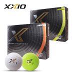 [2020년신제품]던롭 젝시오 XXIO X SOFT 엑스 소프트 3피스 화이트/라임옐로우 골프볼-12알