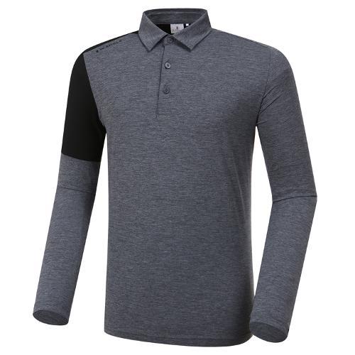 [와이드앵글] 남성 배색 포인트 카라 티셔츠 M WMP20202C4