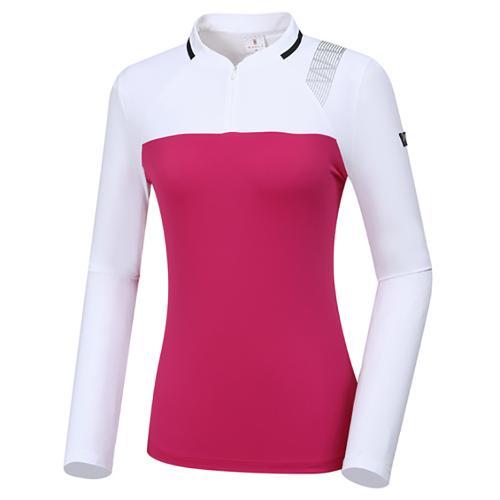 [와이드앵글] 여성 W리미티드 블럭 티셔츠 L WWP20203M2