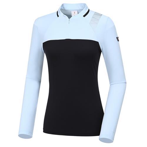 [와이드앵글] 여성 W리미티드 블럭 티셔츠 L WWP20203Z1