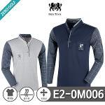 [PARK TOWN] 파크타운 PK 로고 패턴 차이나카라 티셔츠 Model No_E2-0M006