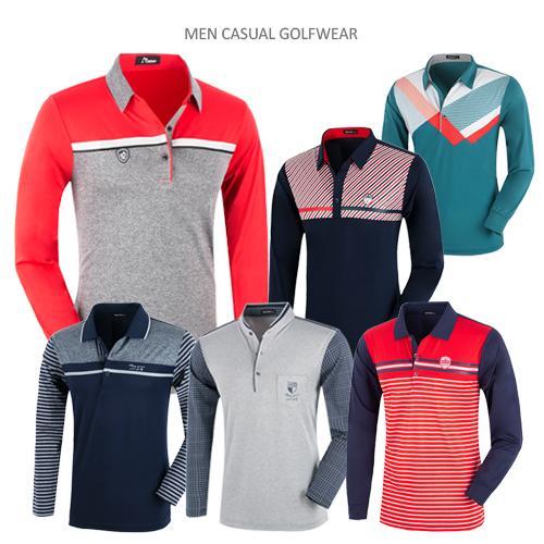 [파크타운 外] 따끈따끈 봄신상 카라티셔츠 모음 남성 로고/패턴/스트라이프/배색 티셔츠 6종 택일