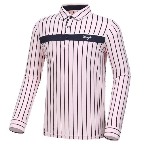 [와이드앵글] 남성 버티컬 스트라이프 티셔츠 M WMP20235P1