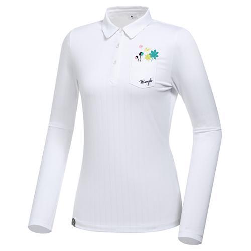 [와이드앵글] 여성 로타 콜라보 자수 포인트 티셔츠 L WWP20231W2
