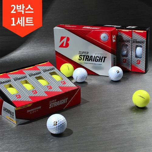 2박스 총24구/2020 브리지스톤 슈퍼스트레이트 3피스 골프공