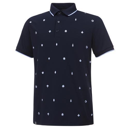[와이드앵글] 남성 로타 콜라보 잔 패턴 반팔 티셔츠 M WMM20233N4