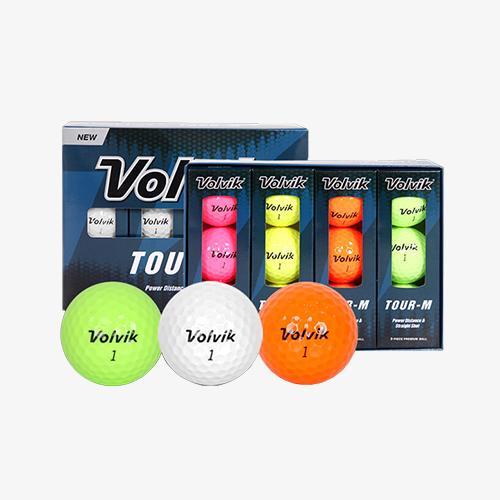 [볼빅] 투어-M TOUR-M 2피스 골프공 골프볼(1더즌/12구)