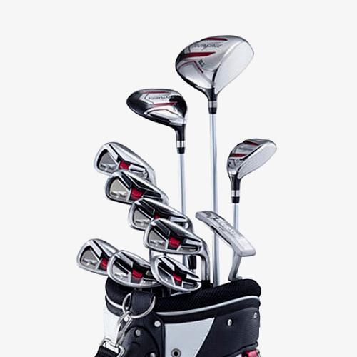 2017 투어스테이지 V002 풀세트 11개+캐디백(아시안스펙)-남성