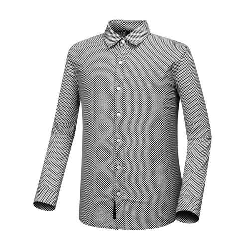 [와이드앵글] 남성 SCANDIC 패턴 메쉬 셔츠 WMP18434Z1