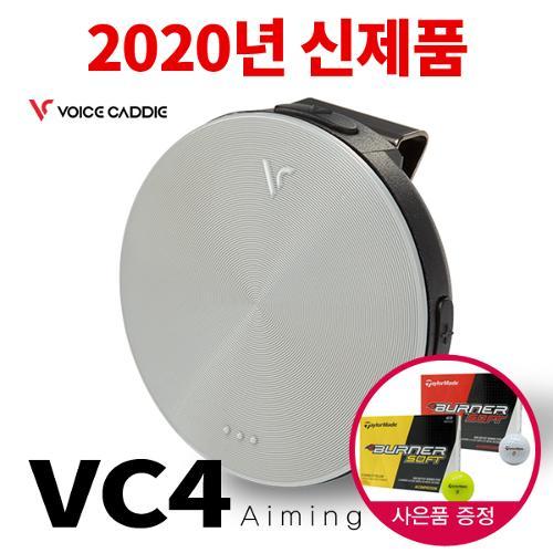 [2020년신제품]보이스캐디 VC4 Aiming 음성형 골프거리측정기(에이밍기능 최초장착)+테일러메이드볼12알
