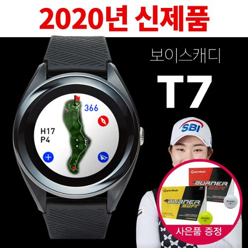 [2020년신제품]보이스캐디 T7 시계형 GPS+테일러메이드버너골프볼1DOZ