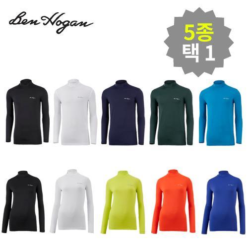 벤호건 콜드리즘 이너웨어 티셔츠 5종택1_남녀