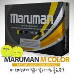 마루망 코리아 정품 M COLOR(엠칼라) 3피스 골프공[1더즌/12알]