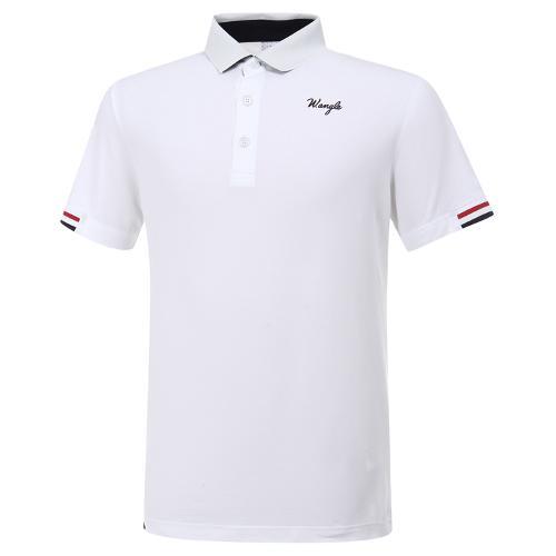 [와이드앵글] 남성 로타 콜라보 카라 포인트 반팔 티셔츠 M WMM20232W2