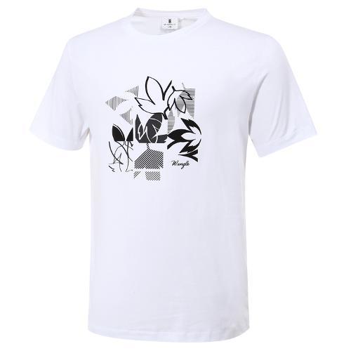 [와이드앵글] 남성 로타 콜라보 패턴 라운드 반팔 티셔츠 M WMM20273W2