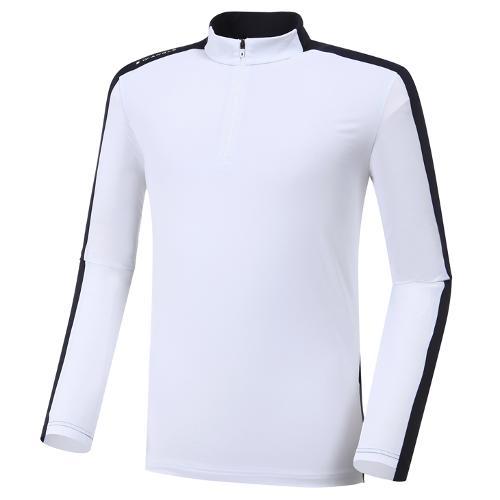 [와이드앵글] 남성 컨피던스 긴팔 반짚 티셔츠 (W.ICE) M WMM20212W2