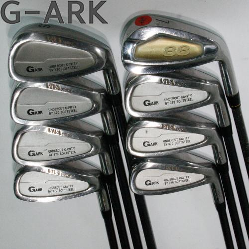 G-ARK VIVA 370DX 8S 중고아이언세트 골프아이언세트