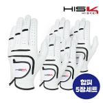 [지브이투어 정품] 히스케이 HSK 합피 장갑_5 장 1팩