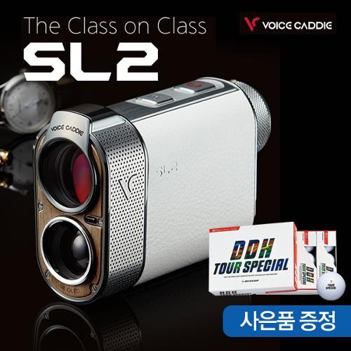 [2020년신제품]보이스캐디 SL2 하이브리드 스마트 GPS탑재 거리측정기+테일러메이드버너골프볼1DOZ