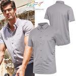 [그렉노먼] 폴리스판 셔츠스타일 남성 카라넥 반팔티셔츠/골프웨어_250001