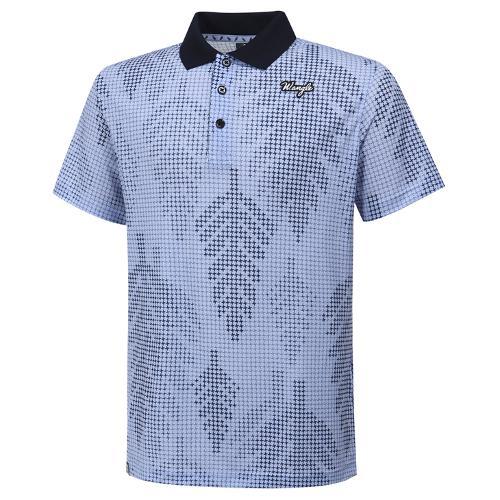 [와이드앵글] 남성 로타 콜라보 십자 패턴 반팔 티셔츠 M WMM20236B1