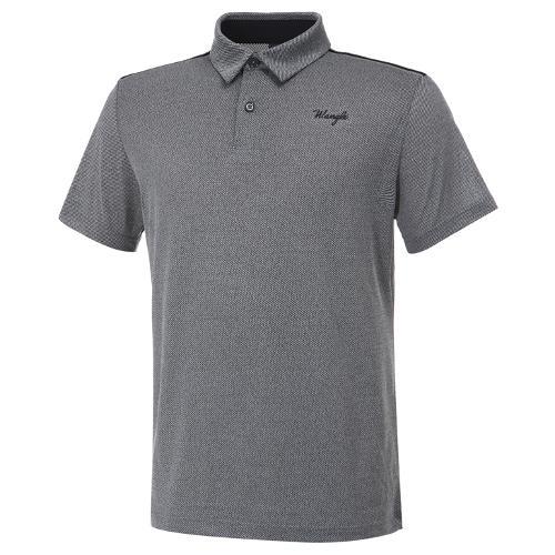 [와이드앵글] 남성 베이직 멜란지 반팔 티셔츠 M WMM20292C4