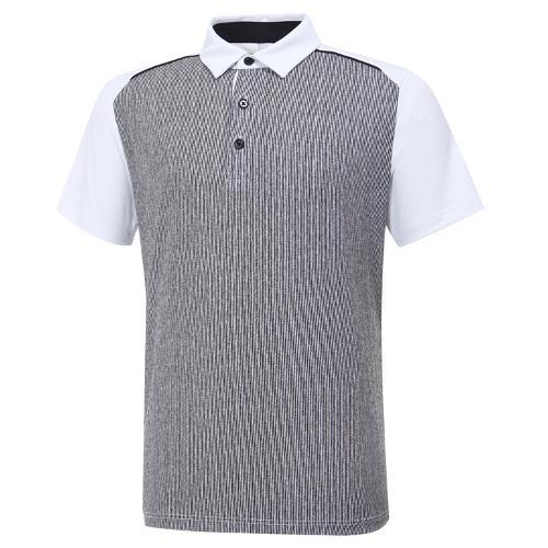 [와이드앵글] 남성 AIR DOT 하이브리드 반팔 티셔츠 M WMM20240W2