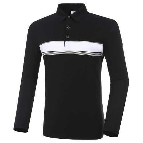 [와이드앵글] 남성 W리미티드 보더형 긴팔 티셔츠 M WMP20203Z1