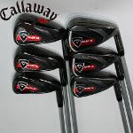 캘러웨이 RAZR X BLACK 6S 골프아이언세트 중고골프채