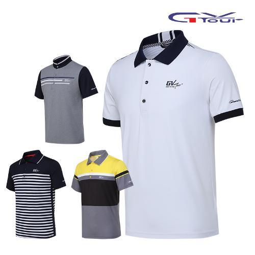 지브이투어 남성 골프 반팔 티셔츠 4종 택1
