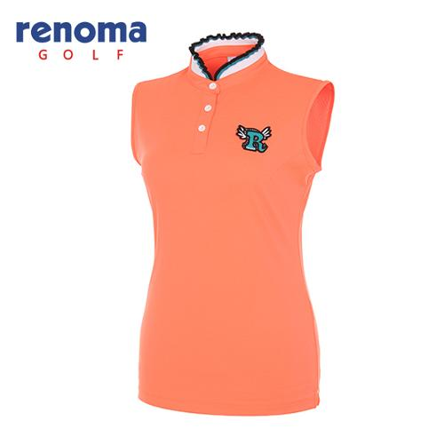 [레노마골프]여성 프릴 카라 민소매 티셔츠 RWTSG6118-301_G