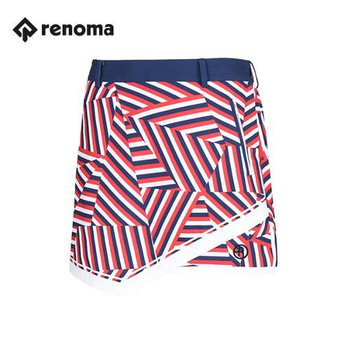 [레노마골프]여성 패턴 지퍼 포켓 큐롯 RWPCG5521-500_G