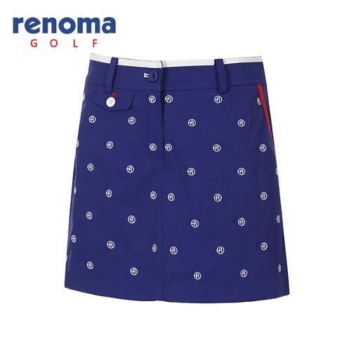 [레노마골프]여성 로고 자수 패턴 큐롯 팬츠 RWPCG5520-907_G