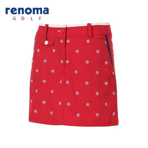 [레노마골프]여성 로고 자수 패턴 큐롯 팬츠 RWPCG5520-500_G