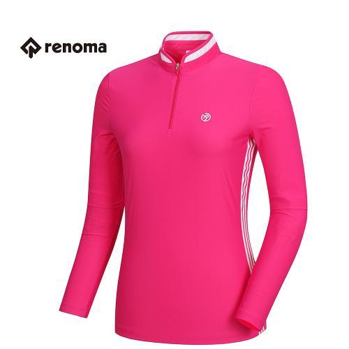 [레노마골프]여성 기능성 져지 반집업 티셔츠 RWTRH5113-403_G