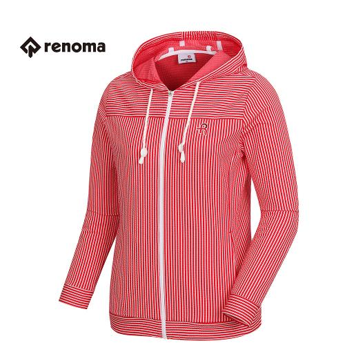 [레노마골프]여성 후드 스트라이프 티셔츠 RWTCH5115-500_G