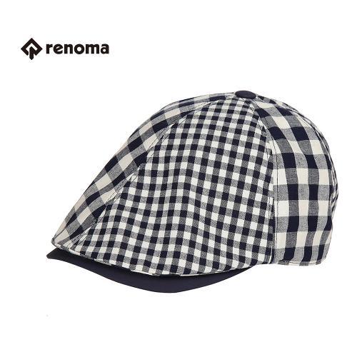 [레노마골프]남성 체크 헌팅캡 모자 RMACG2804-120_G