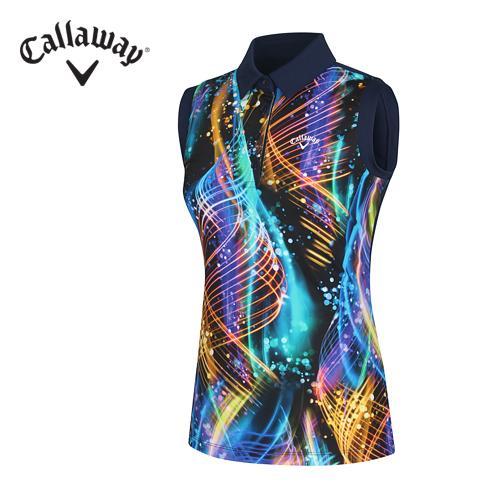 [캘러웨이]여성 네온 컬러 티셔츠 CWTYF6125-915_G
