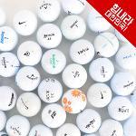 [땡처리특가]흰색 혼합브랜드 로스트볼 초중급자용 100알