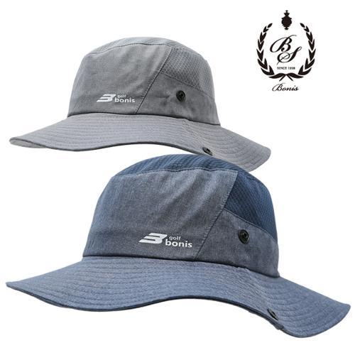 [보니스 골프] 변형스타일 스트링끈 메쉬 남성 벙거지 모자/골프모자_250399