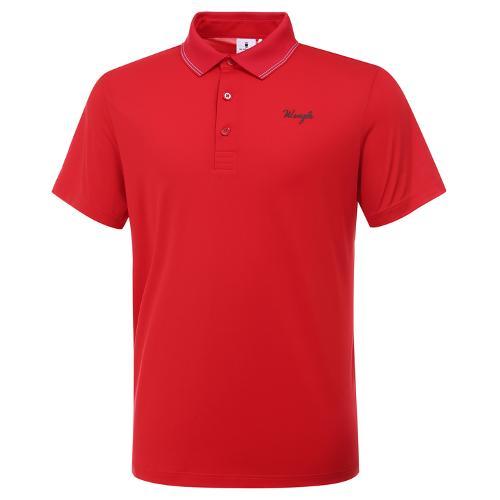 [와이드앵글] 남성 페르소나 배색 카라 티셔츠 M WMM20231R2