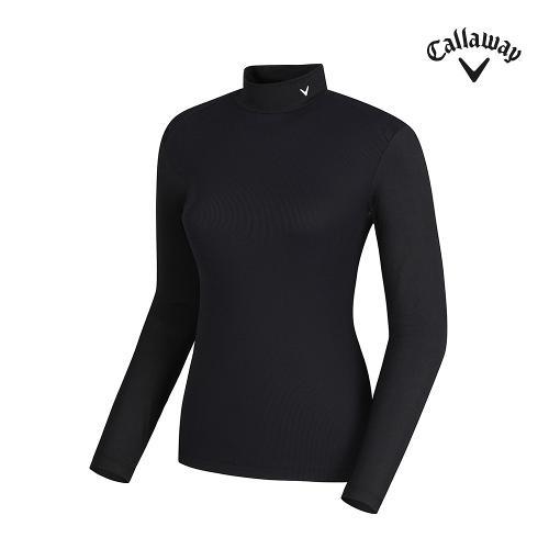 [캘러웨이]여성 골지 냉감소매 하이넥 티셔츠 CWTHJ6257-199_G