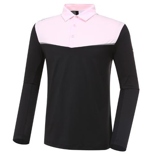 [와이드앵글] 남성 W리미티드 긴팔 티셔츠 2 (W.ICE)M WMM20218Z1