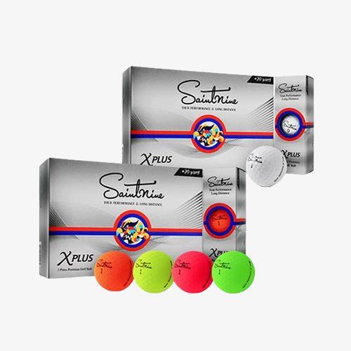 4더즌 총48구/ 넥센 세인트나인 X 플러스 비공인 고반발 3피스 골프공